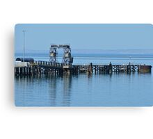 Lonely watch Canvas Print