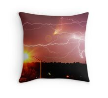 Afternoon Strike Throw Pillow