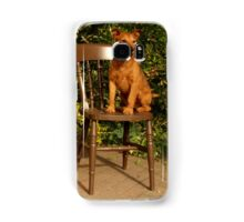 Waiting For His Master Samsung Galaxy Case/Skin