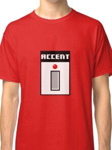8Bit TB-303 Accent Pixel Classic T-Shirt