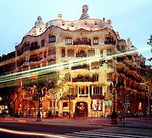 Gaudi Barcelona by violetstar