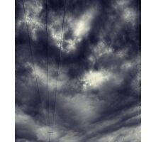 Cutting through the Storm - Wig Wig, nr Much Wenlock by rharris-images