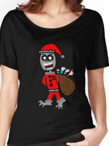 Demon Santa  Women's Relaxed Fit T-Shirt