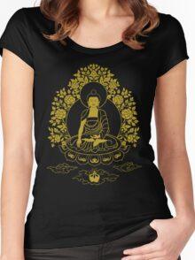 Shakyamuni Buddha Women's Fitted Scoop T-Shirt