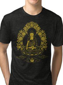 Shakyamuni Buddha Tri-blend T-Shirt