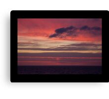After The Sun Goes Down - Burns Beach Western Australia Canvas Print
