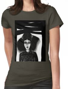 Black Window Updated Womens Fitted T-Shirt