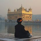 At Peace At The Golden Temple, Amritsar, Punjab, India by RIYAZ POCKETWALA