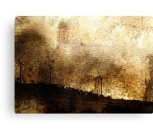 Stealing The Wind Canvas Print