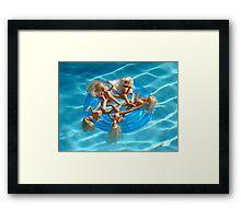 BARBIE FLOAT #27 Framed Print