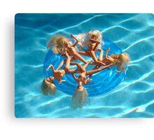 BARBIE FLOAT #27 Canvas Print