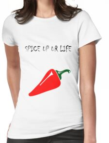 Spice up ur life  Womens Fitted T-Shirt