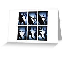Shadowplay Greeting Card