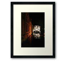 Brugge (Belgium) Framed Print