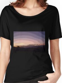 Purple Sunset #2 Women's Relaxed Fit T-Shirt