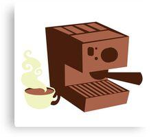 Italian coffee machine! espresso Canvas Print