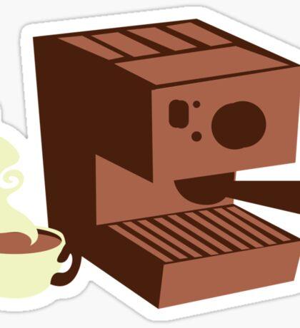 Italian coffee machine! espresso Sticker