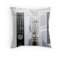 Remote: Take Control of your Life Throw Pillow