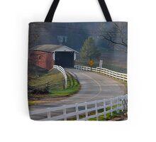 Jackson's Saw Mill Covered Bridge Tote Bag