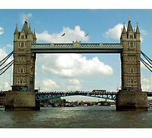 Tower Bridge - London, UK Photographic Print