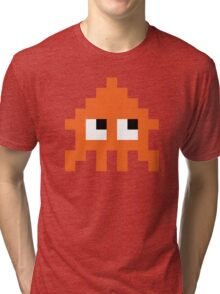 Pixel Squid (Splatoon Inspired) Tri-blend T-Shirt