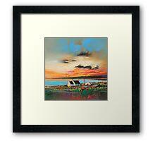Trotternish Croft Framed Print