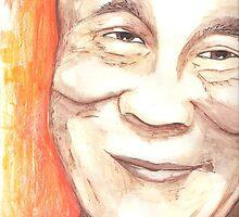 Dalai Lama by FaceStudios