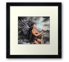 """Black Angel"" Framed Print"