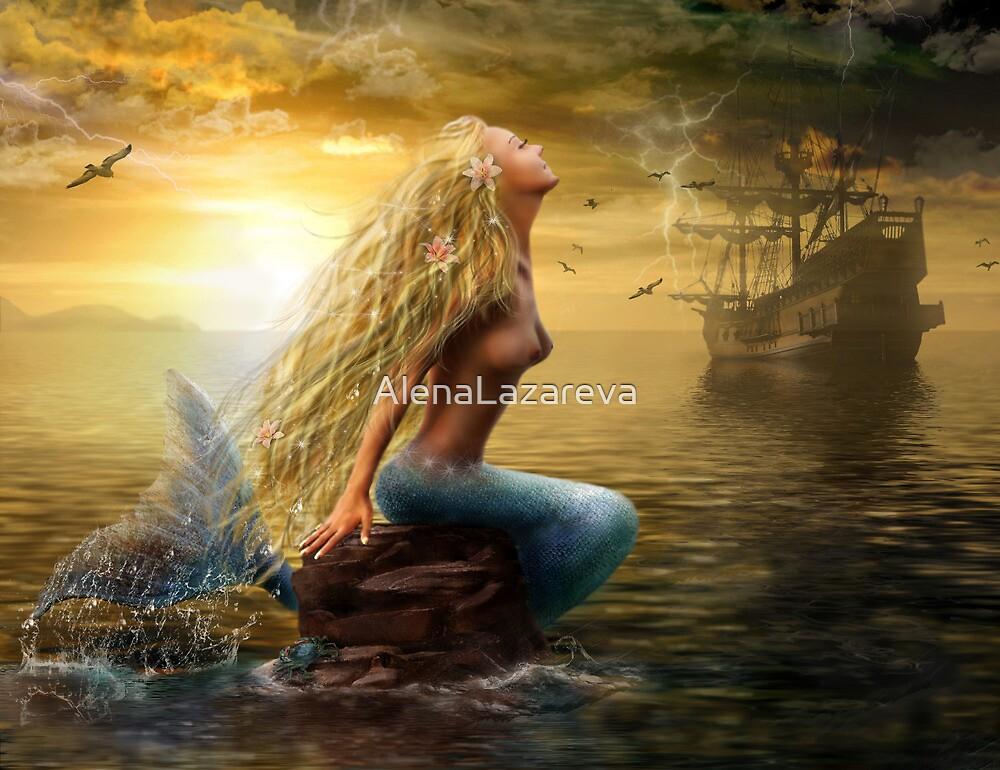 Mermaid by Alena Lazareva
