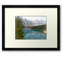 Moraine Lake, Canada Framed Print