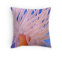 Sea Anemone not See An Enemy! © Throw Pillow