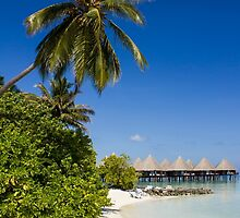 Water Villas in the Maldivian Atolls - Eden on Earth by Digital Editor .