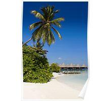 Water Villas in the Maldivian Atolls - Eden on Earth Poster