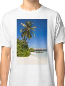Water Villas in the Maldivian Atolls - Eden on Earth Classic T-Shirt