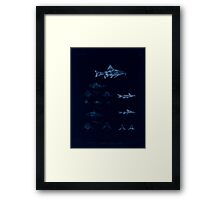 The fishes of India by Francis Day 103 - Inverted - Amblyceps mangois Erethistes hara Framed Print