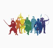 Warriors (Rainbow) by satorenalin