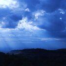 Blue light by Mark Anthony Carter
