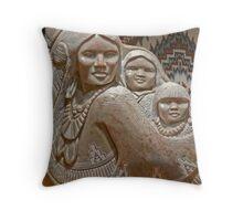 Navajo Art (photomontage) Throw Pillow