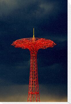 Parachute Jump, Coney Island by Alastair McKay