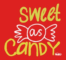 Sweet As Candy Kids Tee
