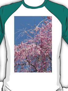 Weeping cherry blossoms T-Shirt