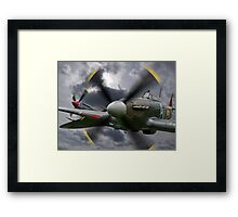 Right! Let's get the hell out of here! Framed Print
