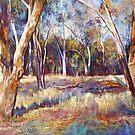 Trees at Dysart by Lynda Robinson