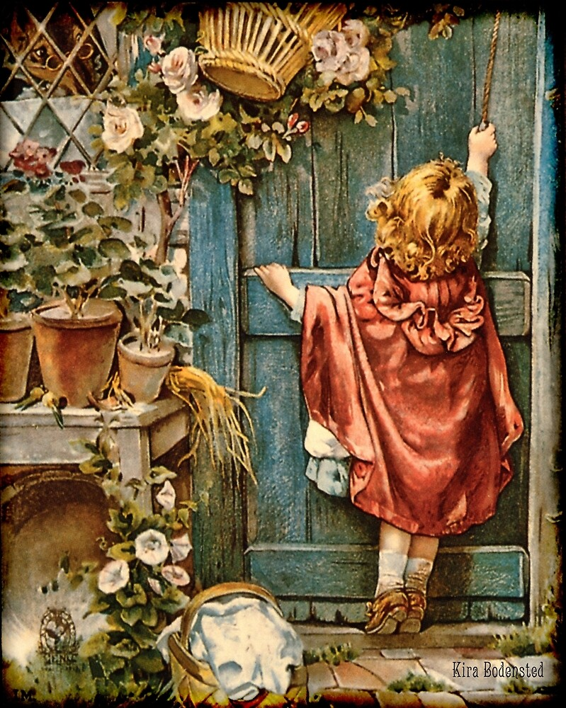 Knocking on grandma's door by © Kira Bodensted