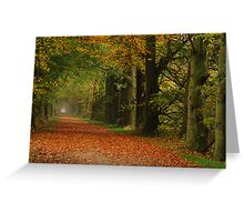Leading towards fairy-tale land Greeting Card