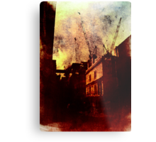 If You're Not Careful (This City Will Devour You) Metal Print
