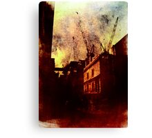 If You're Not Careful (This City Will Devour You) Canvas Print