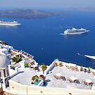 Welcome to Santorini by andreisky