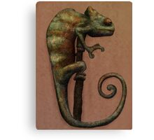 Its a Chameleon Canvas Print