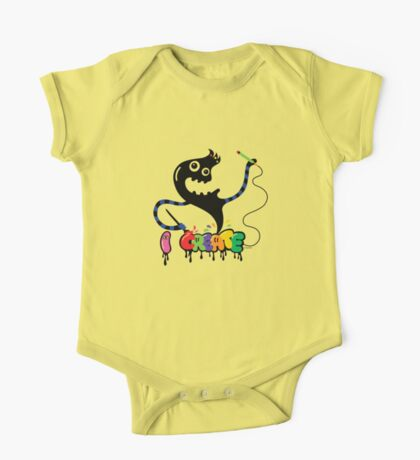 i create monster  Kids Clothes